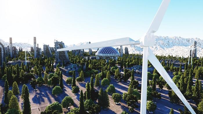 orasul viitorului, oras verde