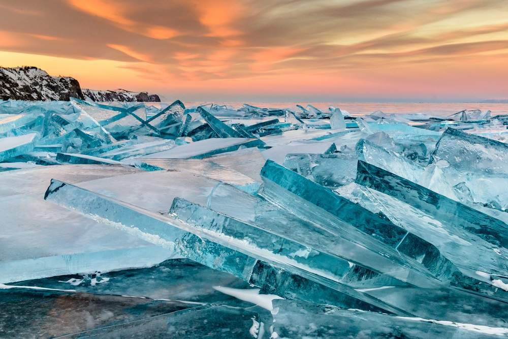 gheata lacul Baikal