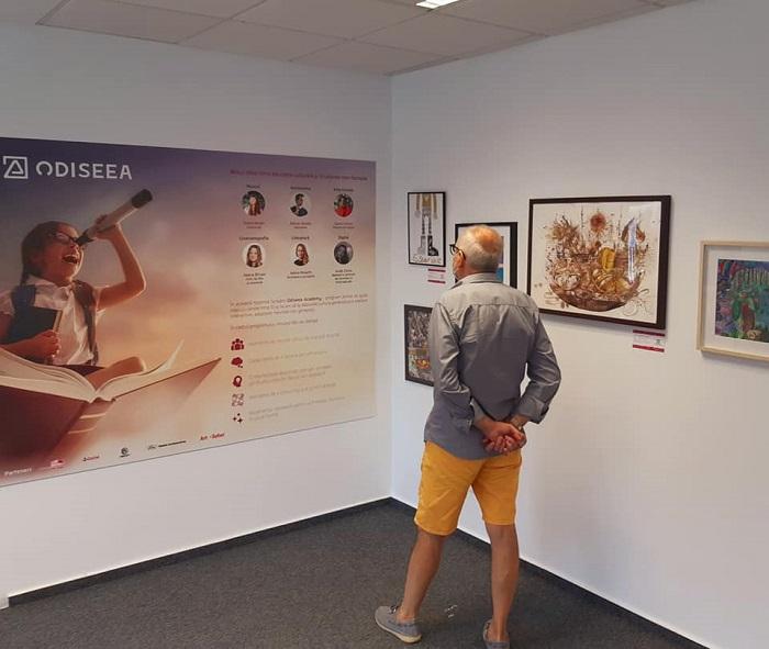 Expoziția Odiseea Tânărului Artist - Art Safari 2020