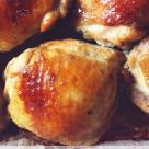 Pulpe de pui in marinata de miere si sos de soia
