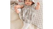 Rochita pentru bebelusi in carouri