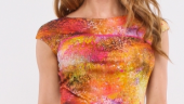 Bluza tricot imprimat digital
