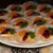 Mini tarte cu budinca si fructe