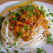 Spaghetti ionixese con pollo