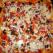 Pizza cu ciuperci, masline si porumb