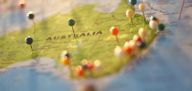 Care alt drapel este prezent pe drapelul Australiei?