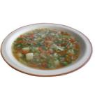 Ciorba de legume cu galuste de ciuperci