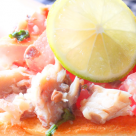 Idee mic dejun: Bagheta cu file de hering afumat