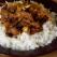 Carne de vitel cu orez