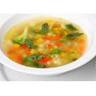 Supa de legume cu pasta de busuioc