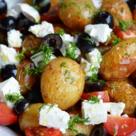 Salata calda cu cartofi noi