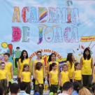 Explozie de zambete si culoare pe terasa mall Promenada, la a doua editie a Academiei de Joaca