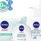(P) Secretul celor mai fericiti bebelusi? Gama NIVEA Baby Pure & Sensitive