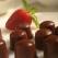 Desert de post: Bomboane de ciocolata vegetala cu ghimbir si migdale