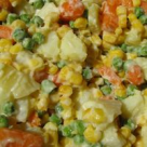Salata de porumb cu mazare