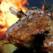 Coronita din cotlete de porc la cuptor