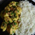 Curry usor de pui