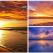 Apus de soare la mare: 19 imagini magnifice, desprinse parca din Paradisul asfintiturilor