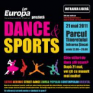 Dance&Sports, cel mai mare eveniment de dans in aer liber