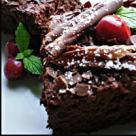 Prajitura cu ciocolata si visine