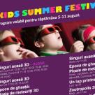 Kids Summer Festival - cei mici se pot bucura pana pe 31 august de filme speciale