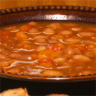 Supa crema de fasole si praz