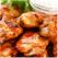 Pulpe de pui cu sos de ardei