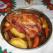Pulpa de porc cu legume, la cuptor