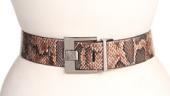 Anne Klein New York Feathered Edge Reversible Snake