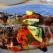 Pentru cina: Pastrav la grill, cartofi cu pesto si sos de lamaie cu usturoi