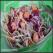 Salata de varza rosie si alba cu sunca