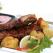 Muschi de porc cu cartofi