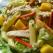 Salata de paste cu piept de pui si mango