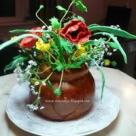 Tort 'Natura...DULCE...cu flori de mai'