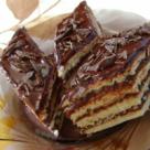 Prajitura cu crema de cacao si rom