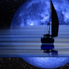 Luna plina si albastra in Varsator: Cum iti afecteaza zodia Luna Albastra de pe 31 Iulie