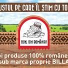 BILLA Romania adauga noi produse 100% romanesti sub marca proprie Bun, din Romania!