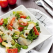 Salata cu avocado, parmezan si rosii