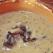 Supa-crema de fasole si ciuperci coapte