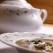 Supa de vita cu telemea de oaie