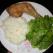Friptura din pulpa de pui cu orez si salata verde
