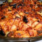 Cartofi cu pui si masline