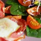 Mic dejun de weekend: Oua invelite in bacon