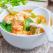 Supa de creveti cu curry rosu
