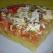 Pizza cu blat de mamaliga