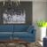 Canapele colorate: 6 modele cu design îndrăzneț pentru camere moderne