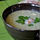 Supa crema de broccoli cu somon afumat