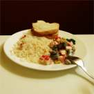 Pilaf cu praz si orez