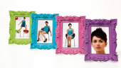 Frame Shocking Barock 10x15cm Assorted