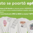 HOSPICE si Kaufland Romania isi unesc fortele: tricouri optimiste pentru refugiul copiilor cu boli rare sau limitatoare de viat